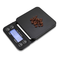 Digital Kitchen Food Coffee Weighing Scale + Timer with Back lit LCD Display
