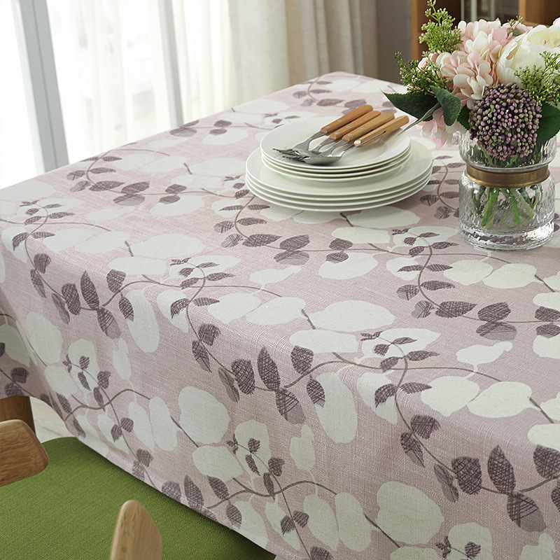 New Modern Minimalist Table Cloth Cotton Tablecloth Waterproof Clean Round Table Rectangular Tablecloth Hotel Coffee Home Dining in Tablecloths from Home Garden