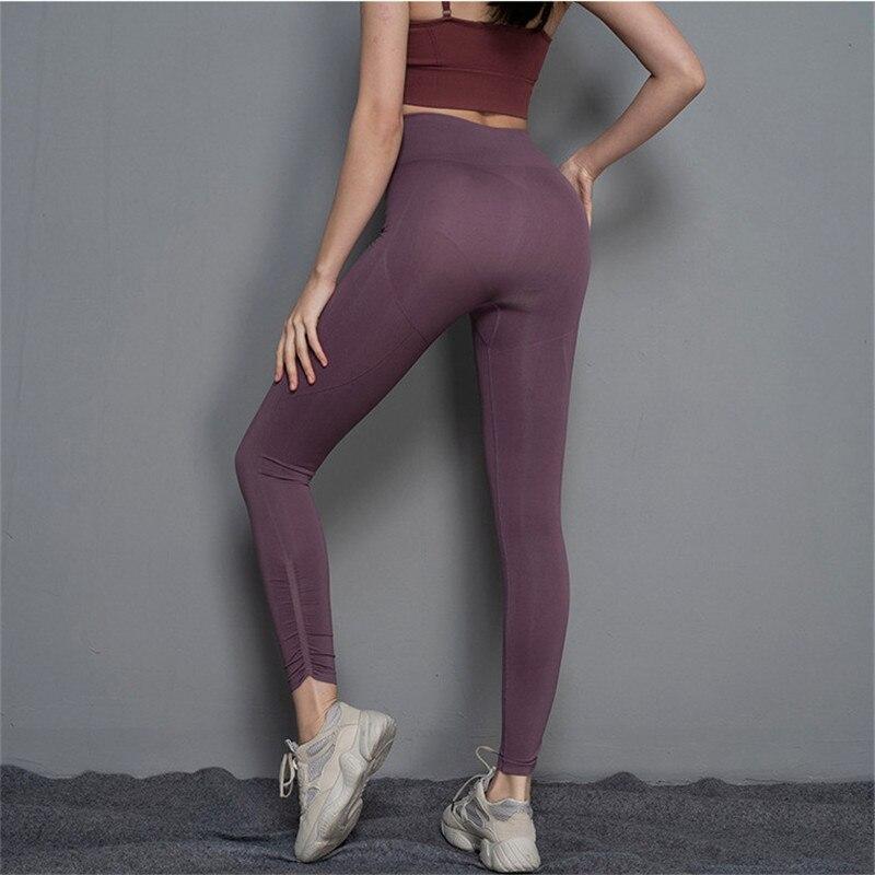 GOGNGTR Women Yoga Pants High Waist Fitness Long Leg Slim Motion Push Up Seamless Leggings Tummy Control Sweatpants