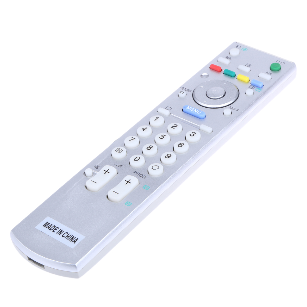 Universal TV Remote Control Controller Replacement White for Sony TV smart lcd led RM-ED ...