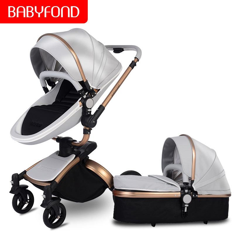 CE safety  high quality Multifunctio baby strollers 2 in 1 baby car baby carriage 0-36 months use high quality leather babyfond CE safety  high quality Multifunctio baby strollers 2 in 1 baby car baby carriage 0-36 months use high quality leather babyfond