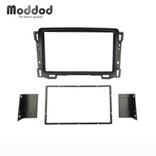 Double Din Car Radio Fascias for Chevrolet Sail DVD Stereo Panel Fascia Dash Mount Kits Refit installation Trim Frame Bezel(China)