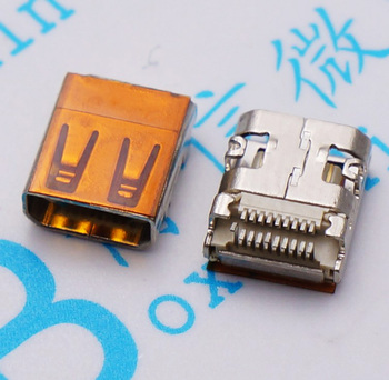 Free shipping 100PCS Small SMD MICRO HDMI high-definition HD video socket 19P mini-jack
