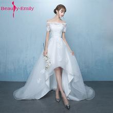 Cheap Asymmetrical Wedding Dresses