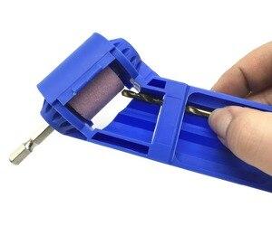 Image 4 - Milda точилка для сверл с корундом, шлифовальный круг, портативный электроинструмент для сверления, полировка, колесная дрель, точилка для бит 2 12,5 мм