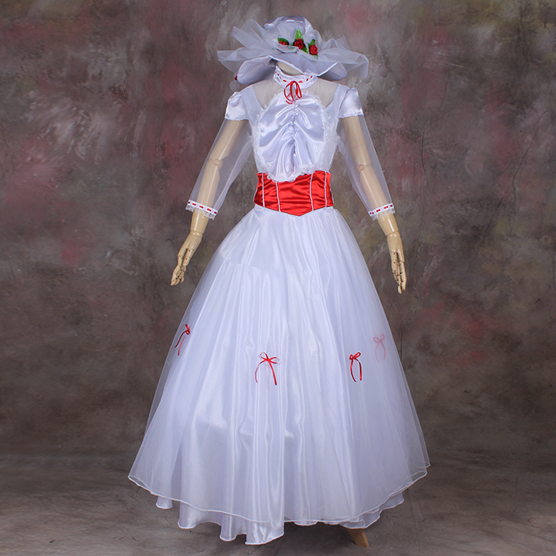 2016 Newest christmas costumes movie role play costumes Mary Poppins font b Cosplay b font best