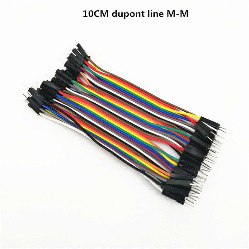 400 шт. 10 см DuPont линии мужчинами Перейти Dupont кабель провод M-M Dupont линия для DIY Хлеб совета