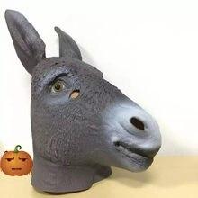 grote enorme zwarte ezels