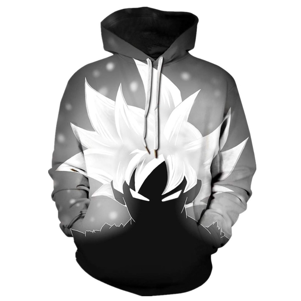 Dragon Ball Hoodies 3D Men Women Sweatshirts Vegeta Hoodies Anime Hot Cosplay Hoody Unisex Quality Plus Size Pullover Brand 2019