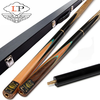 LP Heifang 3 4 Snooker Cue 9.8mm Tip 3 4 Snooker Cues Case Set China cutting tool