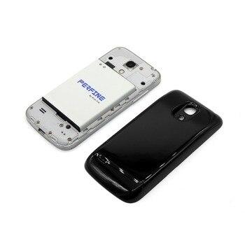 2fccbe7bb51 BA500BE batería BA500AE para Samsung Galaxy S4 mini i9190 i9192 i9195 i9198  teléfono ampliada de 3800 mAh de la batería con cubierta negra caso