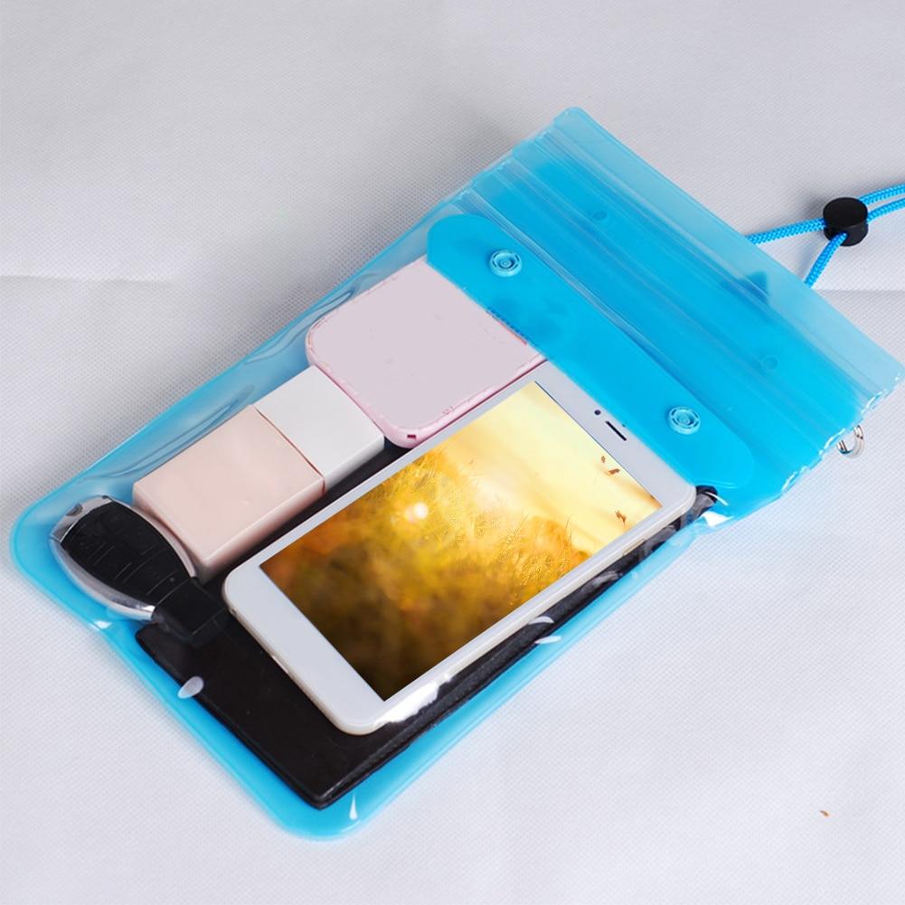 Beach Rafting Dirtproof Underwater Songkran Festival Waterproof Dry Dustproof With Straps Swimming Bag Outdoor Wallets Cosmetics