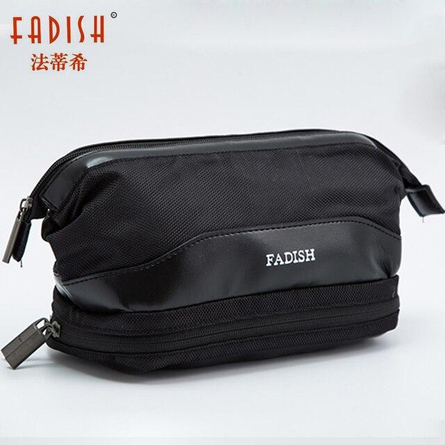 Waterproof Large Men Toiletry Bag Double Layer Travel Organizer Cosmetic Bag  For Women Necessaries Make Up Case Wash Makeup Bag 10ef600449
