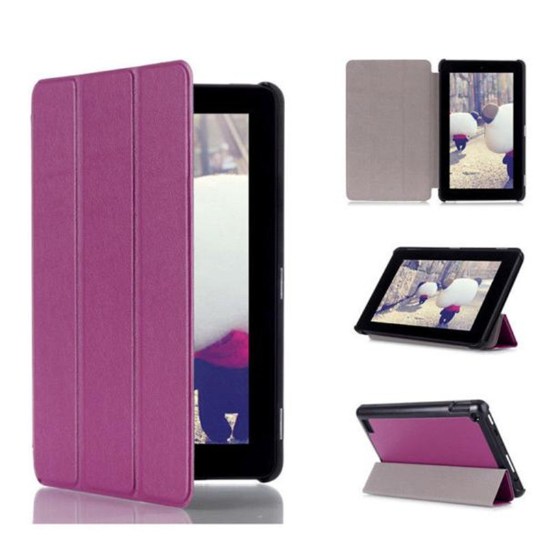NEW Mecall Tri-Fold Leather Stand Case Cover for Amazon Kindle Fire 7 inch Drop Shipping #0217