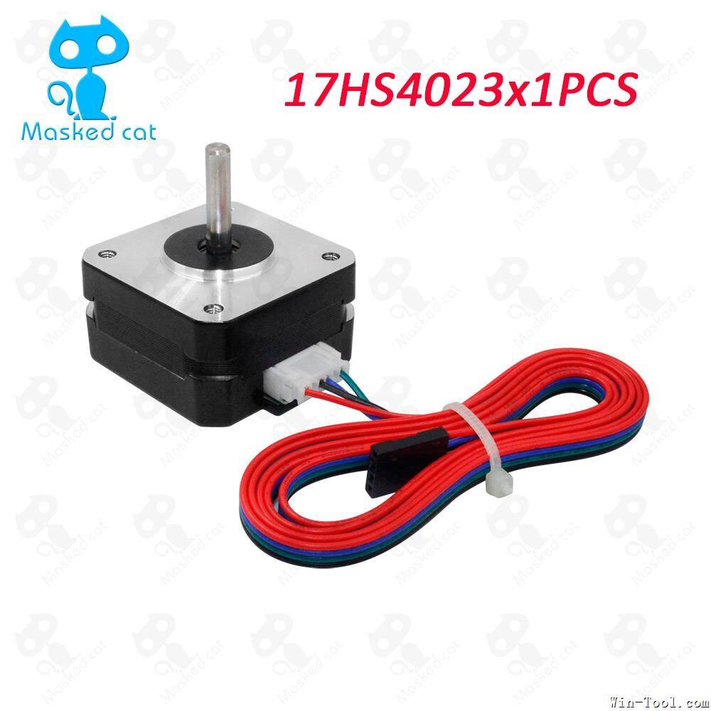 3D Printer extruder parts 17HS4023 Step motor for Titan Extruder 42*42*23mm for J-head bowden laser lazernyy printer pittman motor for liyu pm 3212 printer motor 9234c140 r5 printer parts