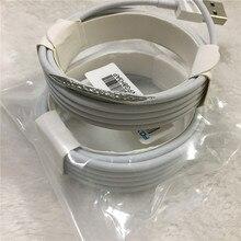 10 pçs/lote Original 2 m/6FT E75 Chip OD 3.0mm 100% Cabo De Dados USB Para Foxconn 5S 6 6s 7 7plus 8 8pl Com caixa de varejo