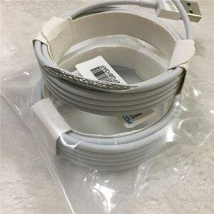 Image 1 - 10pcs/lot Original 2m/6FT E75 Chip OD 3.0mm 100% Data USB Cable For Foxconn 5S 6 6s 7 7plus 8 8pl With retail box