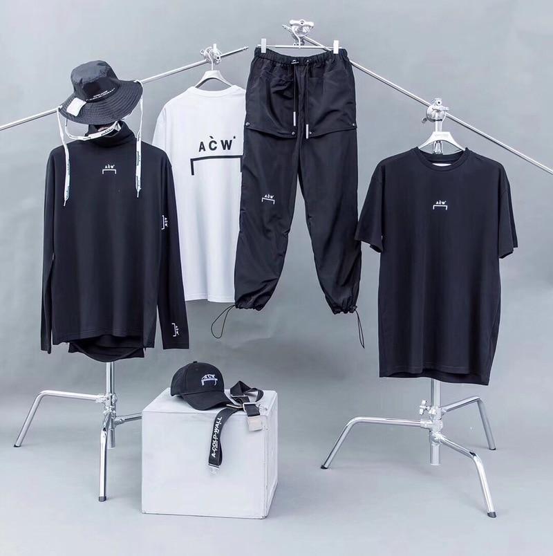 19ss A-COLD-WALL ACW pantalon salopette Streetwear Hip Hop Harajuku cordon survêtement Joggers Gym pantalon A-COLD-WALL