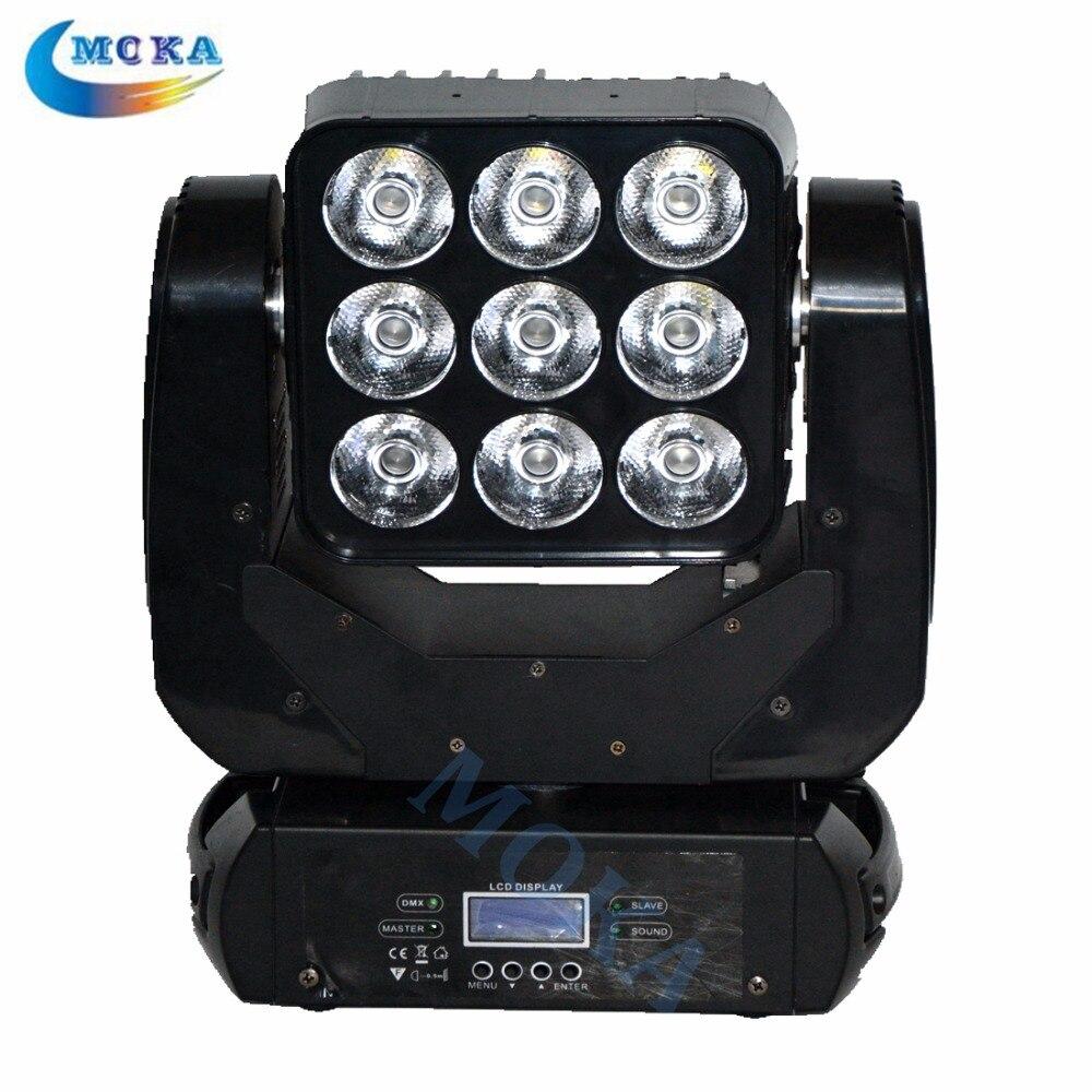 3x3 Led Matrix Moving Head Light RGBW Disco Matrix Blinder Lighting 4 IN 1 LED Matrix