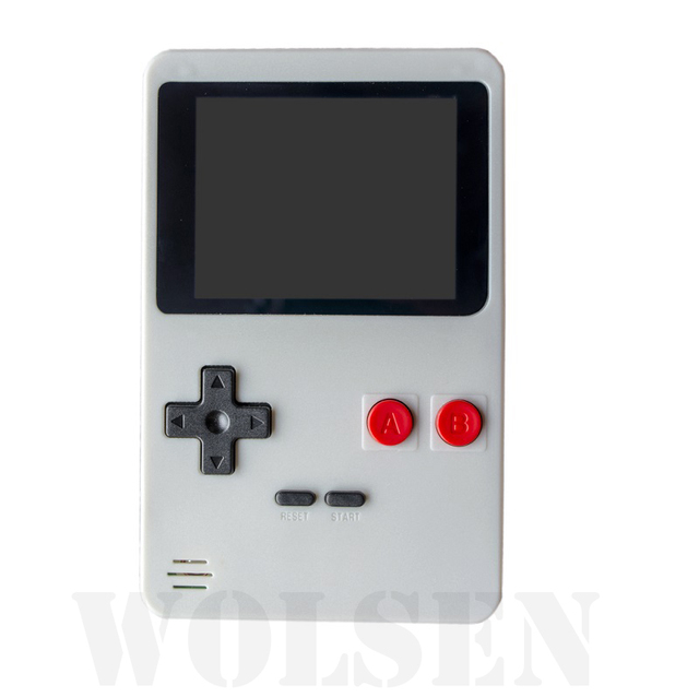 Wolsen 2.8 inch color screen Portable handheld game player built in 200 games
