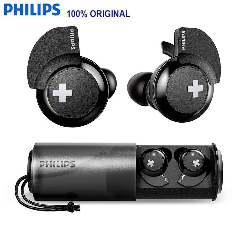 060791b9229 Philips SHB4385 earphone Really Wireless Bluetooth 4.1 Headset Earplugs  Type Motion Run Pleasant To The Ear De-noising Bean