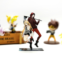 Angels of Death Zack & Rachel couple acrylic stand figure model plate holder cake topper anime Japanese Game cool cute waifu