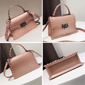 Image 3 - Jelly Bags For Women Solid Flap Fashion Messenger Bag Rivet Women Shoulder Bag Small Big Lady Handbags High Quality Bags Womens