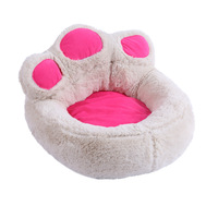 Dogs House Pink Dog Bed Small Large Mattress Sleeping Bag Hause Sofa Pet Cushion Beds for Cats Mat Chihuahua Luxury Kennel Cover