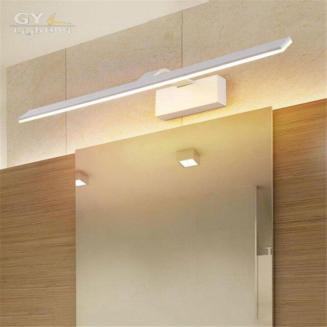 L42/52/62/72 cm Moderno Cuarto de Baño Espejo de Luz Led de Interior ...