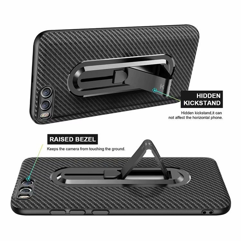LUPHIE Carbon Fiber Case 360 Full Shockproof Mobile Phone Case for Xiaomi Redmi Note 6 Mi6 5X Note 5A Prime Note 3 Armor Cover in Fitted Cases from Cellphones Telecommunications