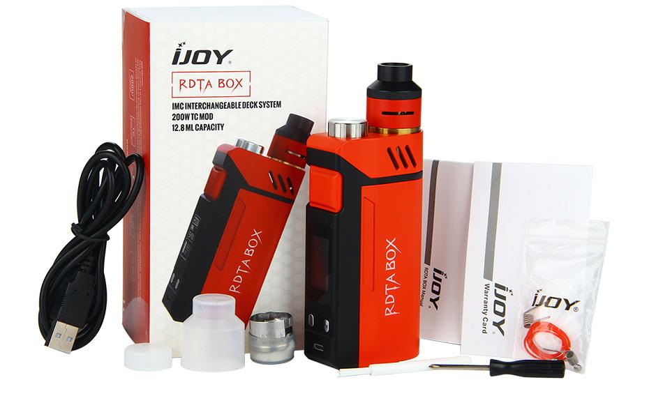 200W IJOY RDTA BOX W/O Battery