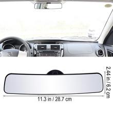 VORCOOL Панорамное зеркало заднего вида Универсальное широкоугольное зеркало заднего вида с присоской установка внутреннее зеркало автомобиля