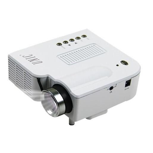 Unic black hd1080p uc28 projector mini led digital video for Mini digital projector