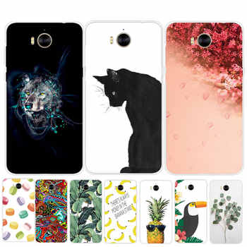 Phone Case For Huawei Y6 2017 Case Silicone Soft TPU For MYA-L22