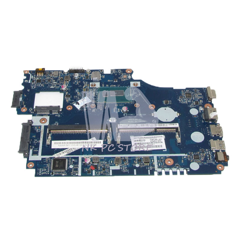 NOKOTION NBMFM1100E NB.MFM11.00E For Acer aspire E1-572 E1-532 Laptop motherboard V5WE2 LA-9532P 2957U CPU DDR3L цены онлайн