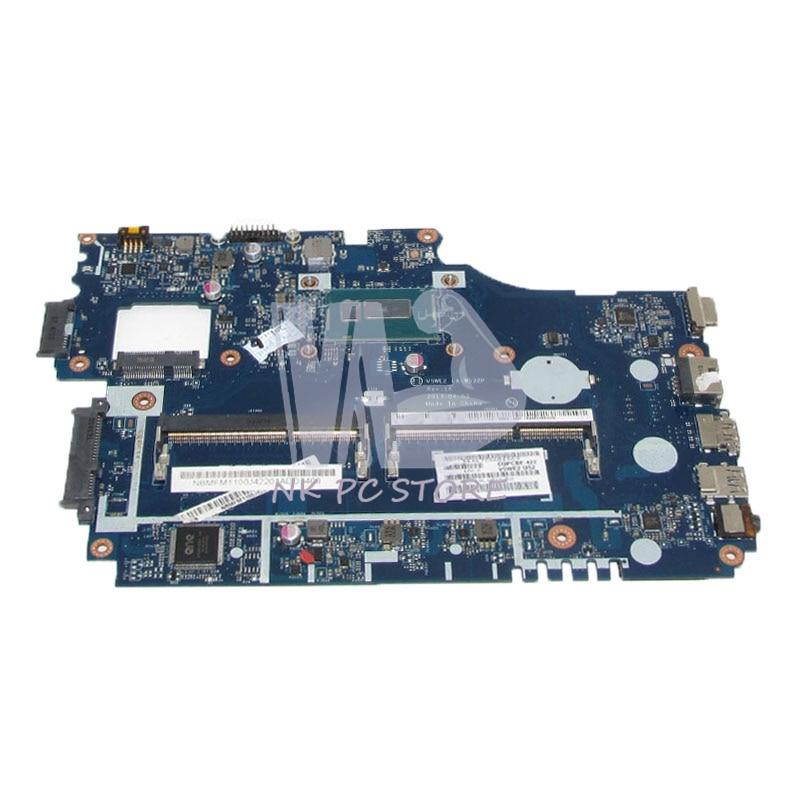 NOKOTION NBMFM1100E NB.MFM11.00E For Acer aspire E1-572 E1-532 Laptop motherboard V5WE2 LA-9532P 2957U CPU DDR3L sheli laptop motherboard for acer aspire e1 532 e1 572 e1 572g v5we2 la 9532p nbmfm1100k sr1dx 2981u cpu 100% test ok