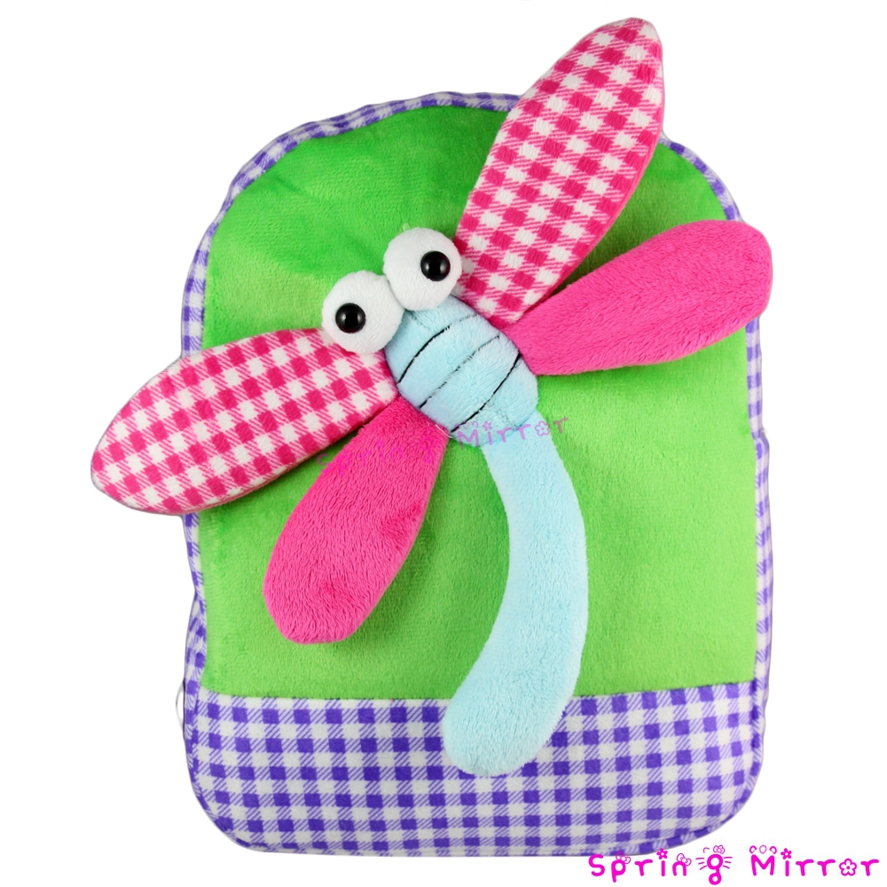aliexpress com buy dragonfly plush baby backpack kids bag