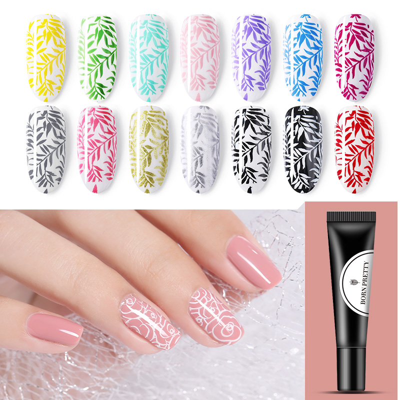 Aliexpress Buy Born Pretty 8ml Nail Stamping Gel