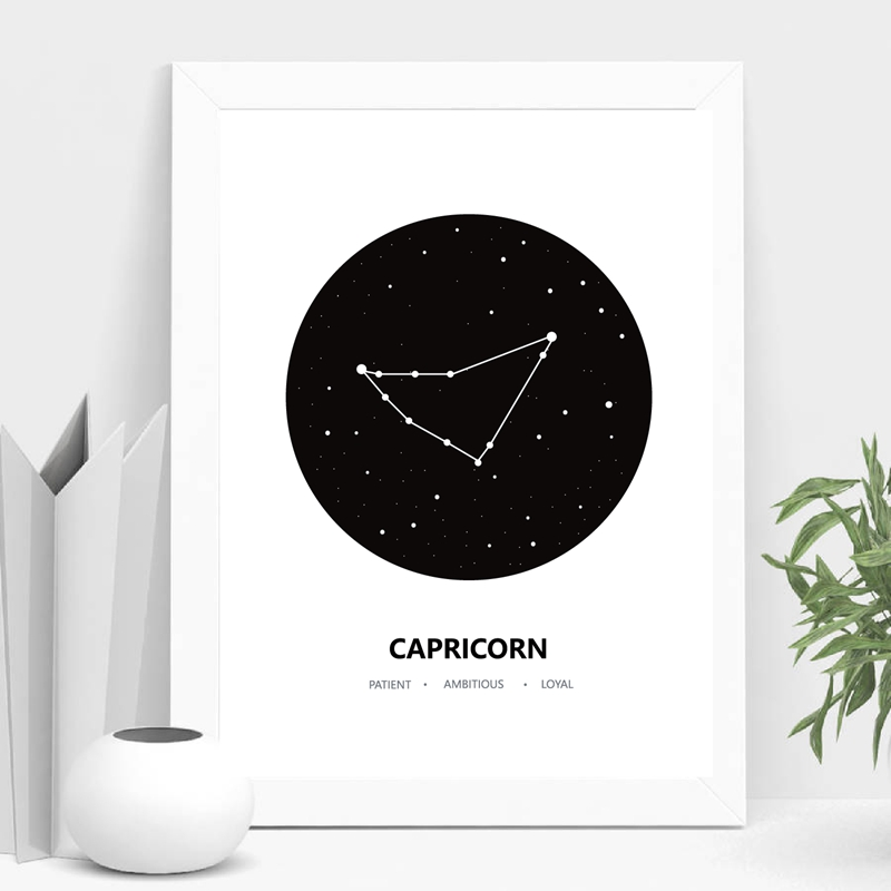 Constellation Canvas Painting