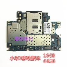 In Stock Working 64GB Board For Xiaomi Mi3 M3 Mi 3 Motherboa
