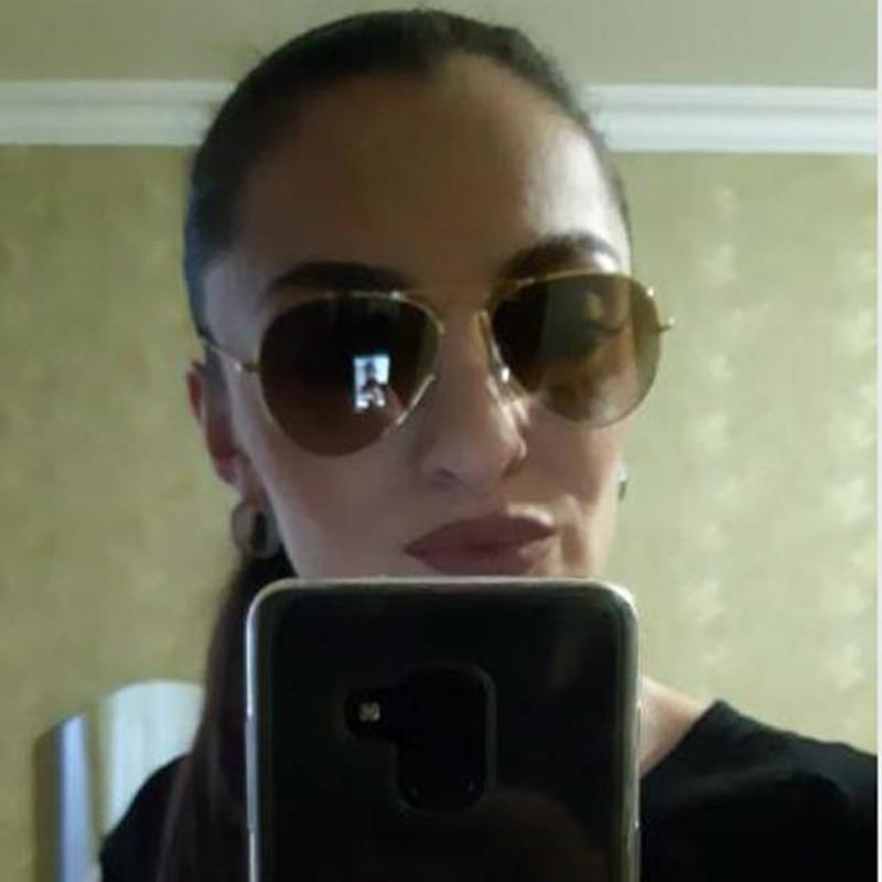 9f14ae5601bae Raggaeon uv400 lentes De Vidro óculos de sol das mulheres de Alta qualidade  de design da marca homem piloto óculos de sol azuis Óculos Retro Moda Praia