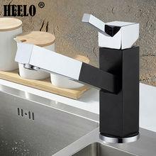 Однорычажный площади вытащить кухонный кран раковина кран поворотный кухонные смесители горячей и холодной воды смеситель torneira