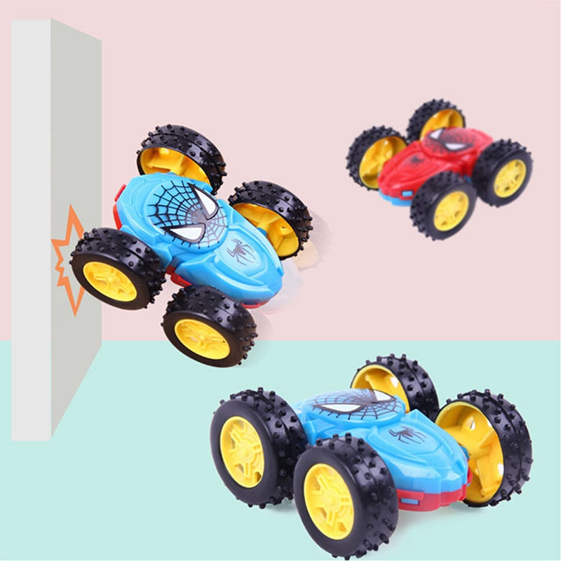 New Inertia Double-Sided Dump Truck Model Cars Kids Toys Gifts Resistant To Falling 360 Rotation Car Turned To Toys For Children
