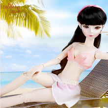 Cataleya BJD doll 60cm 1/3 SD Katie night lolita dress swimsuit change underwear bikini beach