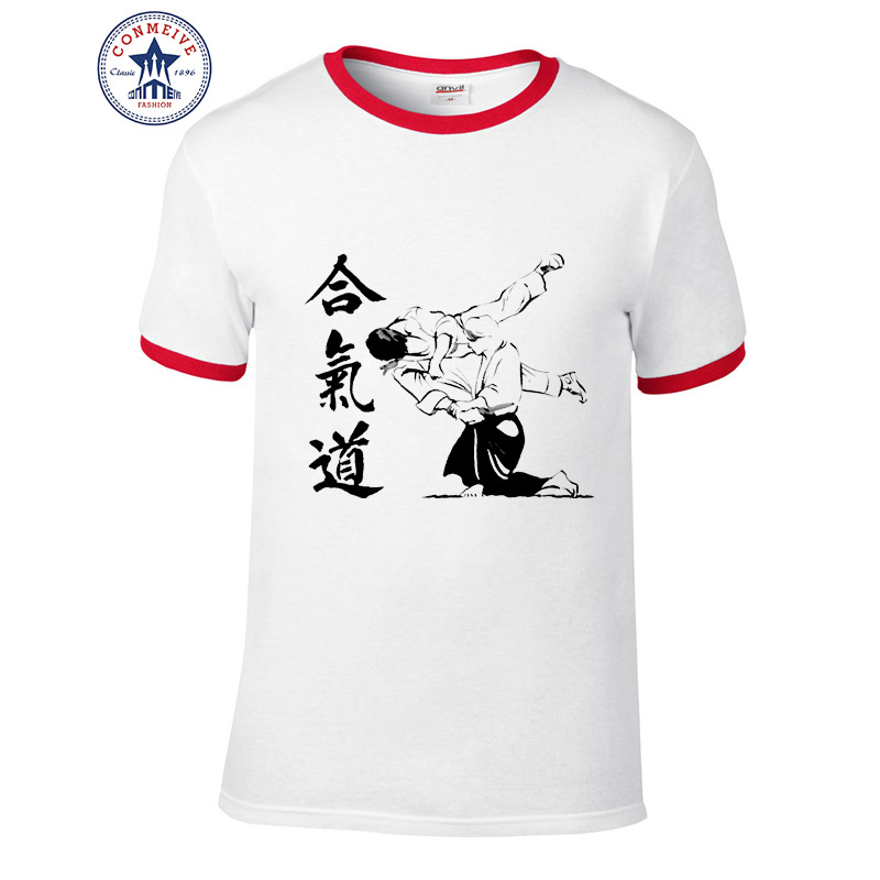 HTB1bjr2aX9gSKJjSspbq6zeNXXat - t shirt aikido 2017 Teenage Youth Funny Cotton for men