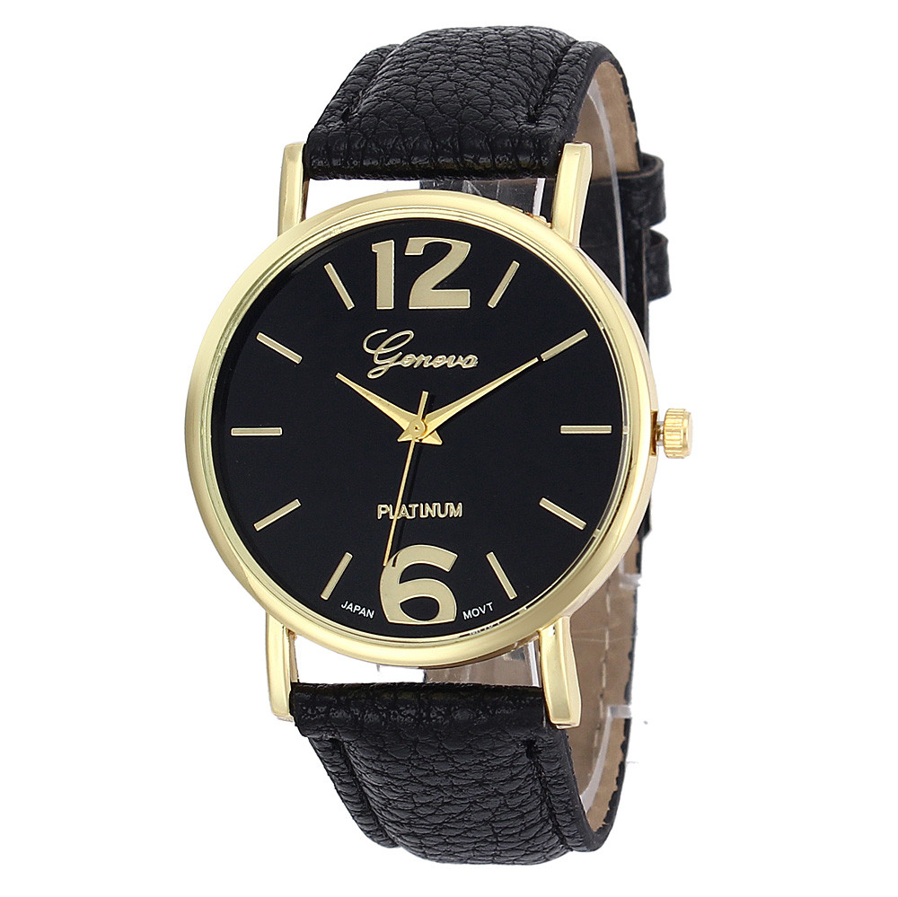 New Watch Women Casual Geneva Fashion Unisex Women Men ...