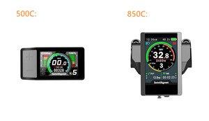 Image 3 - 2019 renkli ekran su geçirmez 48v500w Bafang arka kaset elektrikli bisiklet dönüşüm kiti fırçasız motor tekerlek EBike sistemi