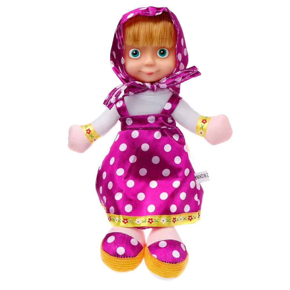 Briquedos Birthday Gifts Popular Russian Masha and Bear Stuffed Toys BAL