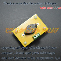 SAN-F0 test socket Iron seal transistor test socket With PCB Connecting terminal