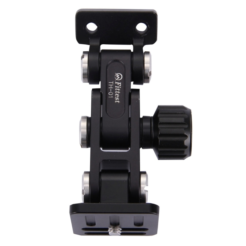 FITTEST Aluminium Alloy Tripod Monopod Adapter Long-Focus Quick Release Plate Telephoto Zoom Lens Bracket For DSLR Camera